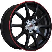 Alcasta M17 alloy wheels