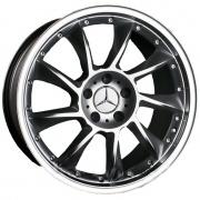 Aleks YL838 alloy wheels