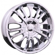 Forsage P8086 alloy wheels