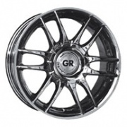 GR A619 alloy wheels