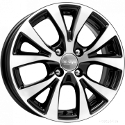 Литые диски КиК HyundaiSolarisFLКС685