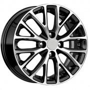 Khomen Wheels Cross-Spoke506 alloy wheels