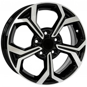 Khomen Wheels Double-Spoke 606 alloy wheels