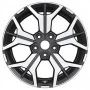 Khomen Wheels Y-Spoke 715 alloy wheels
