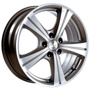 Kosei H3 alloy wheels