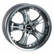Kosei WK106 alloy wheels