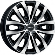 Mak Load6 alloy wheels