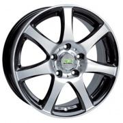 Nitro Y-283 alloy wheels