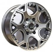 PDW Granite alloy wheels