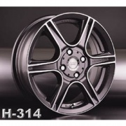Racing Wheels H-314 alloy wheels