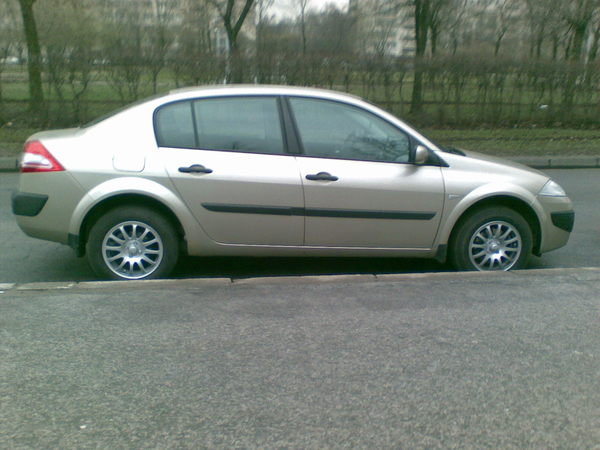 Tyres and wheels for Renault Megane